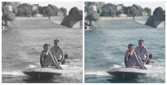 Kurt Mazur zrobił miastu tysiące pięknych, czarno-białych zdjęć. Koloryzacja właśnie daje im drugie życie.