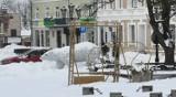 Chełm. Drogowcy walczą ze śniegiem, ale nadal nie jest łatwo poruszać się po mieście. Zobacz zdjęcia