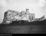Zamek Ogrodzieniec w Podzamczu na archiwalnych zdjęciach