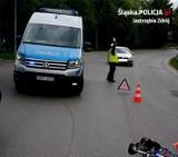 Jastrzębie: 14-latek na rowerze wpadł po koła volvo. Trafił do szpitala. Wypadkowi winien pies?