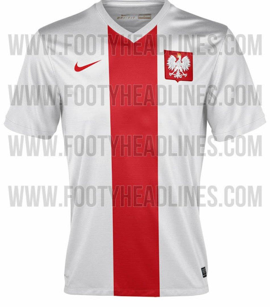 17df2980d Nowe stroje reprezentacji Polski. W takich koszulkach piłkarze zagrają w  eliminacjach do EURO 2016