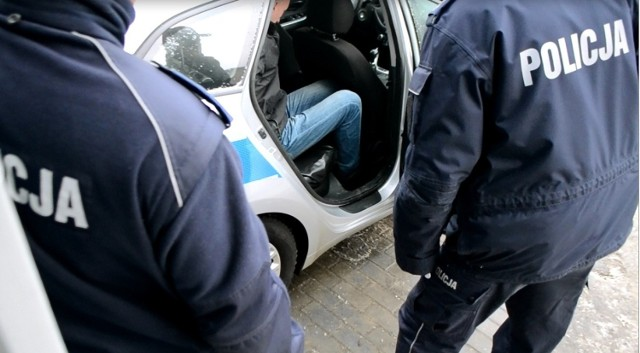Policyjny pościg ulicami Olkusza