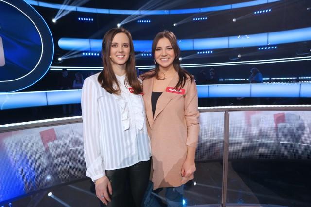 "Aurora i Alessandra Bertini – siostry w teleturnieju ""Postaw na milion"""