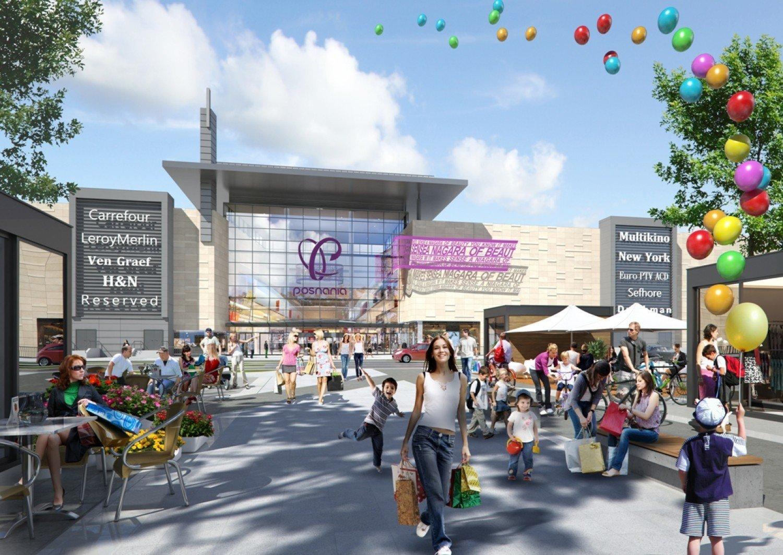 d6ccc3b414c7c Tak będzie wyglądać największe centrum handlowe Poznania [wizualizacje]