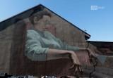 Nowy artystyczny mural w Szczecinie. Powstał na prywatnej posesji w Podjuchach