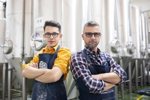 Browar Miastolas stworzyli (na zdjęciu od lewej) Michał Rawski i Tomasz Kirsz.