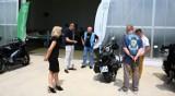 Zmotoryzowani stróże prawa Blue Knights w Centrum Studiów Inżynierskich PWSZ w Chełmie. Zobacz zdjęcia