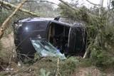 Skradzionym autem, po pijanemu spowodował kolizję
