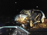 Wypadek koło Szczytna. Zginął kierowca [ZDJĘCIA]
