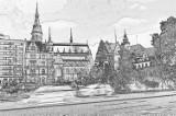 Naszkicowana Legnica. Nasze miasto widziane nieco inaczej. Poznacie wszystkie te miejsca w mieście? [ZDJĘCIA]