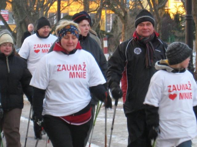 Marsz mający zwrócić uwagę na osoby cierpiące na padaczkę i tę chorobę trwał 13 dni. J. Grochowalska odwiedziła 13 miast