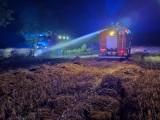 Pożar na polu w gminie Niechanowo. Czy było to podpalenie?