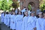 Pruszcz Gdański. I Komunia Święta w kościele Podwyższenia Krzyża Świętego. Zobaczcie zdjęcia!