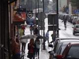 Pleszewski deszczowy dzień w obiektywie