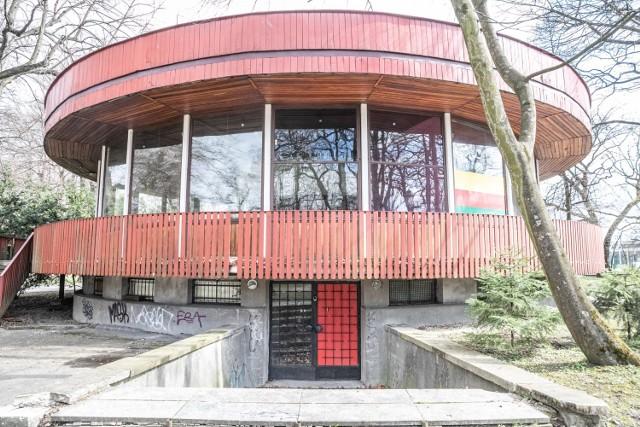 Budynek Jordanówki, gdzie przez lata działała kawiarnia w parku Jordana