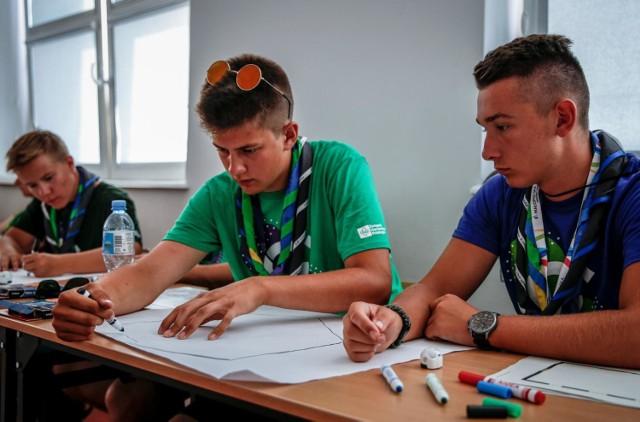 Harcerze opanowali Politechnikę Gdańską. Brali udział w warsztatach i zajęciach.