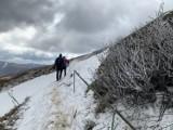 U nas słoneczna wiosna, a w Bieszczadach pod Tarnicą i Haliczem jeszcze widać śnieg [ZDJĘCIA]