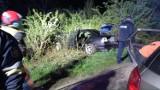 Wypadek BMW koło Przemyśla. Do szpitala zabrano jedną osobę [ZDJĘCIA]