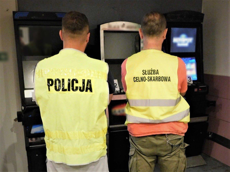 Tczew: funkcjonariusze zabezpieczyli automaty do gier  | Gniew Nasze Miasto