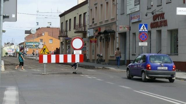 Bełchatów: Pabianicka zamknięta dla ruchu na odcinku od ul. Mielczarskiego do Bawełnianej