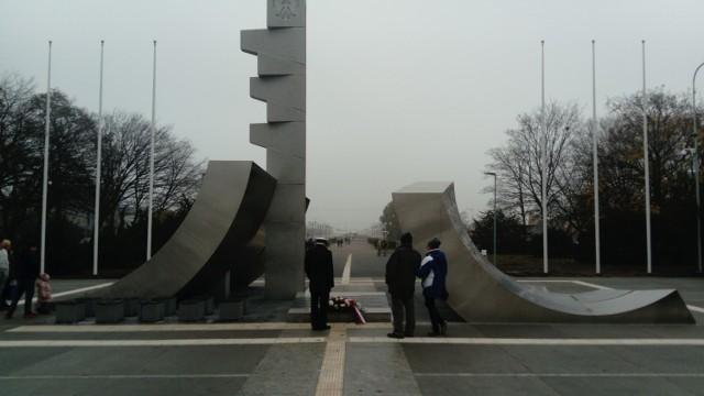 Pomnik można już podziwiać w pełnej krasie.