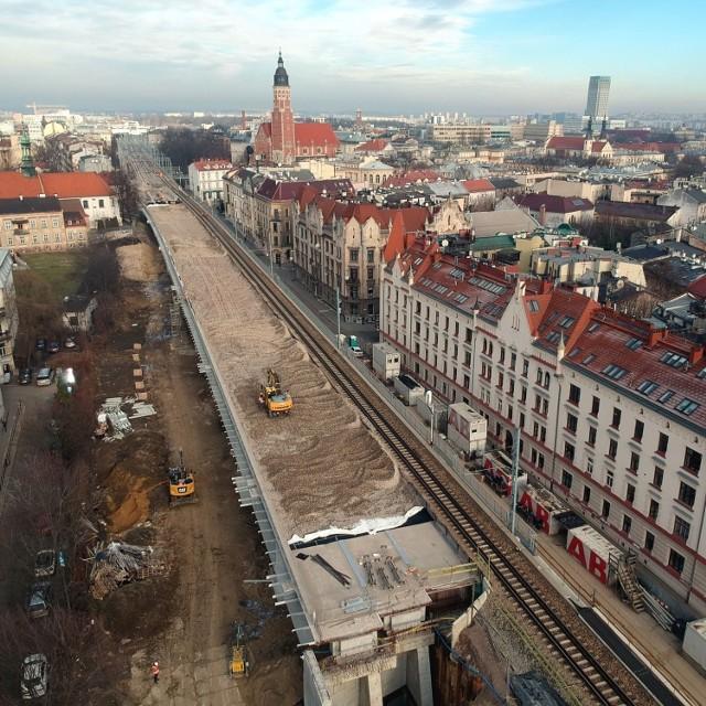 Tak postępuje wielka inwestycja PKP PLK w Krakowie