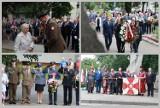 Tak wyglądały obchody 77. rocznicy powstania warszawskiego przy Pomniku Żołnierzy Armii Krajowej we Włocławku [zdjęcia]