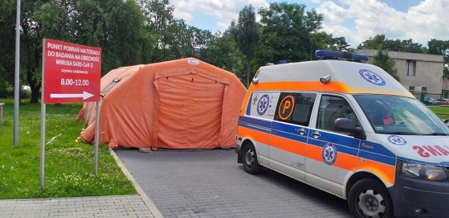 Koronawirus w Małopolsce - szpital zakaźny