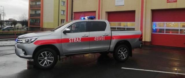 Auto rozpoznawcze trafiło w zeszłym roku do PSP Krotoszyn, w tym roku dotacje na podobne wozy dostały komendy z Grodziska i Nowego Tomyśla