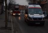 Gniezno. Pożar w centrum miasta. Co stało się na ul. Wyszyńskiego?