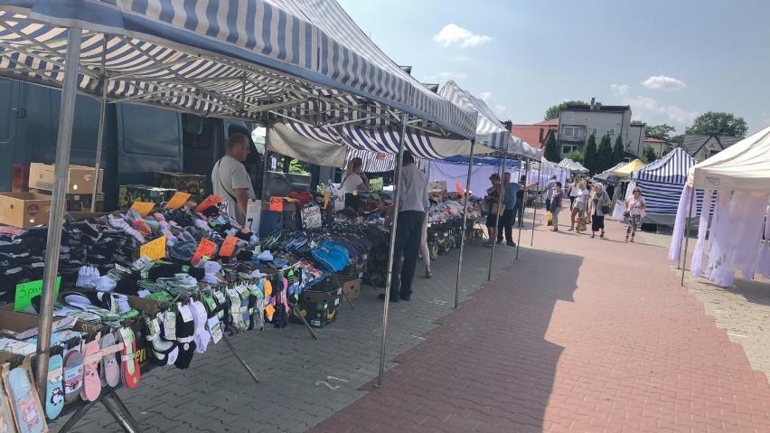W sobotę, 24 lipca na targu w Busku-Zdroju było dość...