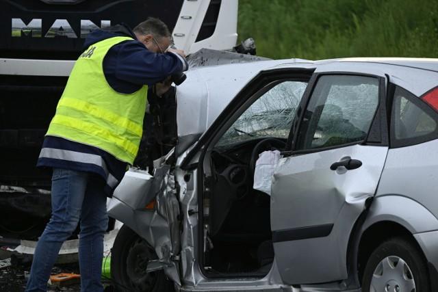 W wyniku wypadku, do którego doszło 12 lipca w Wiągu śmierć poniósł 40-letni obywatel Ukrainy