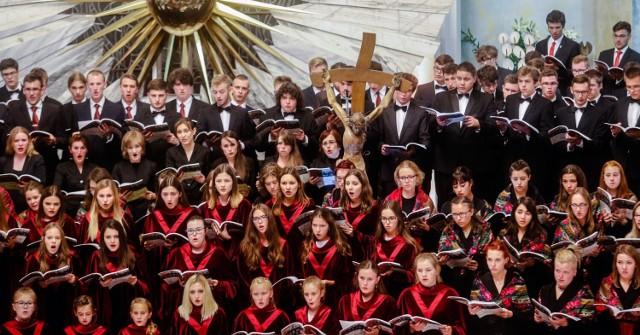 Na zdjęciu Katedralny Chór Chłopięco-Męski Pueri Cantores Resovienses