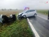 Wypadek na DK 45, na odcinku pomiędzy Roszkowem a Zabełkowem. Zginęła kobieta