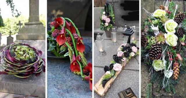 Stroiki na Wszystkich Świętych. Zobacz wiązanki na 1 listopada z kwiatów sztucznych i żywych.