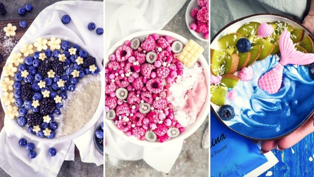 Smoothie-bowl to posiłek, który po obejrzeniu tej galerii na pewno znajdzie się w twoim menu. To nie tylko pomysł na zdrowe śniadanie czy przekąskę, ale także poprawienie sobie humoru lub wprawienie innych w zachwyt. Nie wierzysz? To zobacz w naszej galerii, jak z prostego posiłku można zrobić dzieło sztuki!