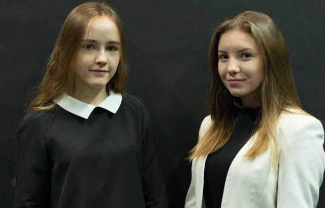 Sara Pietrusińska z Brzeska i Weronika Podleś z Jadownik to uczestniczki XXV sesji Sejmu Dzieci i Młodzieży w Warszawie