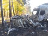 Tragiczny koniec policyjnego pościgu w Czmoniu pod Poznaniem. Dwie osoby spłonęły w samochodzie. Zmarła trzecia ofiara