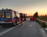 Tragiczny wypadek w Cedrach Małych. Śmiertelne potrącenie 30-letniej rowerzystki. Kierujący pod wpływem alkoholu