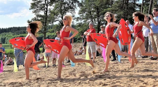 Inauguracja sezonu letniego na sępoleńskiej plaży miejskiej