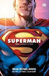 Superman 1. Saga Jedności – Ziemia widmo [RECENZJA]. Zaksakująco dobra historia  i świetne rysunki. Bendis i Reis wykonali świetną robotę