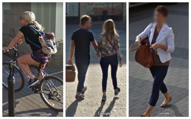 Stylizacje mieszkańców Rybnika na zdjęciach z Google Street View.   Kliknij w kolejne zdjęcia i zobacz
