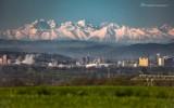 Majestatyczne Tatry nad Tarnowem, Tuchowem, Żabnem czy Melsztynem. Na tych zdjęciach górskie szczyty są na wyciągnięcie ręki [10.05]