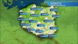 Pogoda na sobotę, 20 czerwca. Będzie ciepło, możliwe burze z gradem