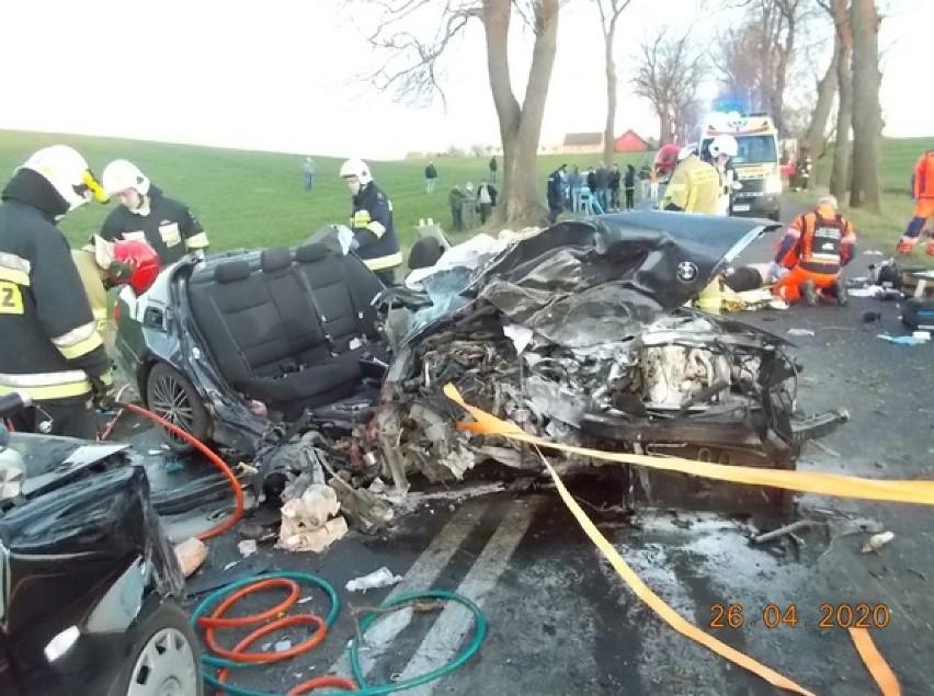 Gmina Kiszkowo: groźny wypadek w Węgorzewie. Cztery osoby są...