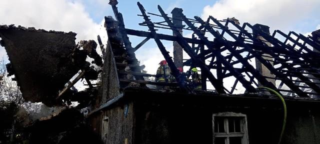 11 października w Węgorzy (gmina Osina) spłonał dom
