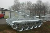 W Gliwicach stanie czołg ozdobny [Zdjęcia]