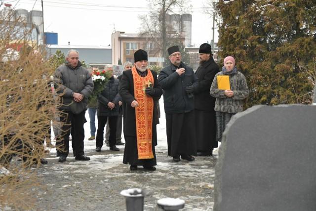Uroczystości upamiętniające ofiary oddziału Romualda Rajsa ps. Bury w Bielsku Podlaskim