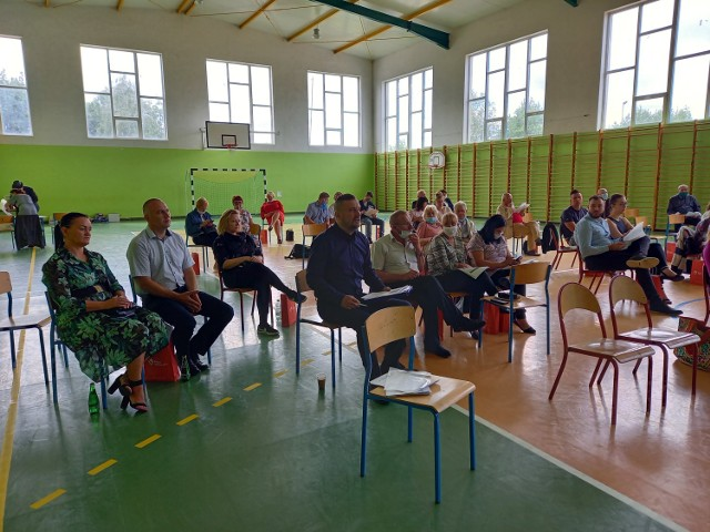 Walne zebranie Związku Lubuskich Organizacji Samorządowych w Dąbiu.