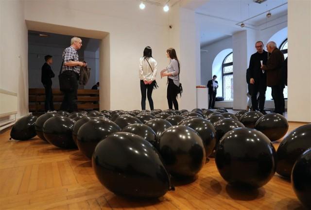 Interakcje w Piotrkowie 2017, wystawa Łukasza Ogórka